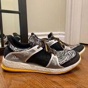 Adidas PureBoost X zebra print size 9 women